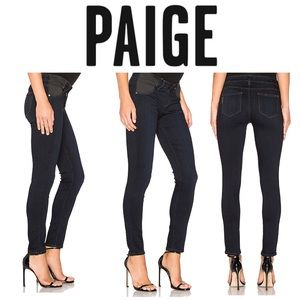 Paige Verdugo Ankle Maternity Jean in Mona Black